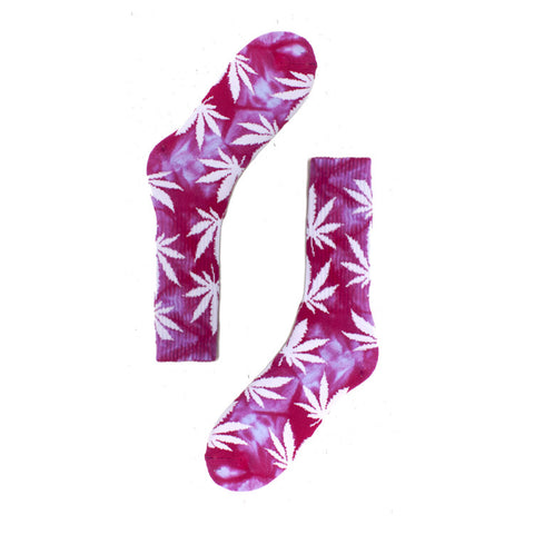 HUF Tie Dye Plantlife Sock / Shop Super Street