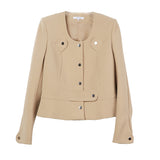 Carven Crepe Suit Jacket / Shop Super Street - 1