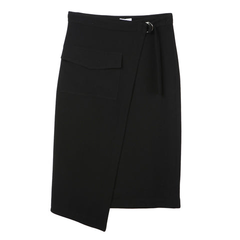 Nomia Pocket Wrap Skirt / Shop Super Street - 1