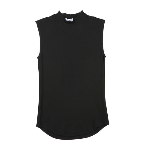 Nomia Mock Neck Muscle Tee / Shop Super Street - 1