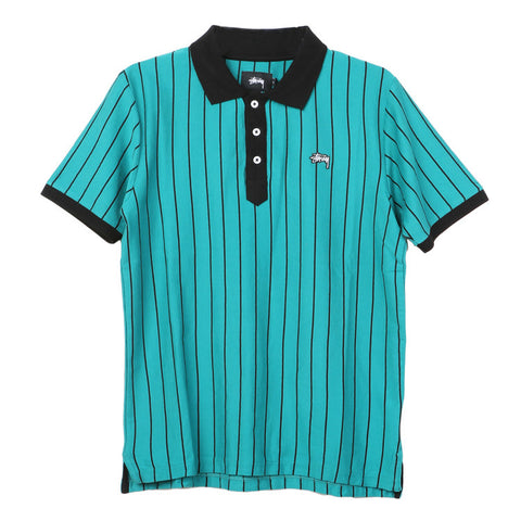 Stussy Striped Tennis Polo / Shop Super Street - 1
