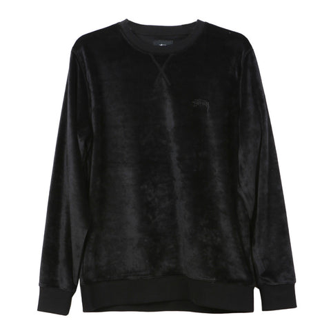 Stussy Velour Sweatshirt / Shop Super Street - 1