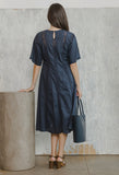 Dominica Dress Navy