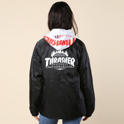 HUF Thrasher TDS Coach's Jacket / Shop Super Street - 1
