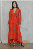 Kochar Dress Fiery Red