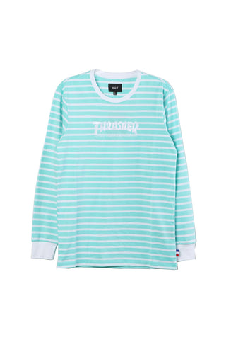 HUF Thrasher TDF Stripe Crew / Shop Super Street - 1