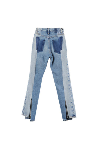 Alxvndra Alxvndra Back Zipper Denim 25 / Shop Super Street - 1