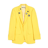Hyein Seo Suit Jacket with Badges / Shop Super Street - 1