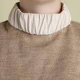 Y Project Tan Leather Collar Turtleneck / Shop Super Street - 3