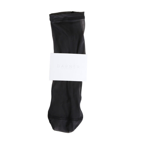 Darner Black Mesh Sock / Shop Super Street - 1