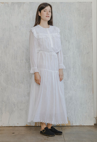 Eina Dress White