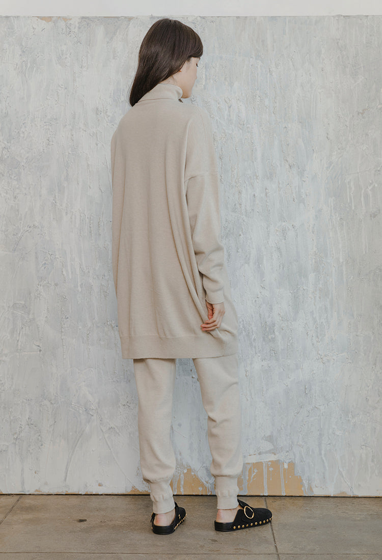 Cashmere Knit Turtleneck