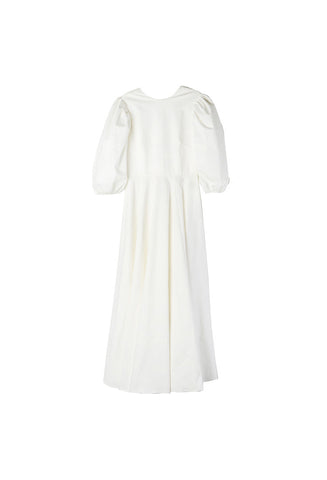 Breelayne Rae White Cotton Dress / Shop Super Street - 1