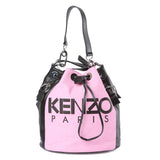 Kenzo Fuchsia Kenzo Logo Bucket Bag / Shop Super Street - 1