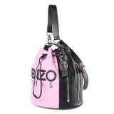 Kenzo Fuchsia Kenzo Logo Bucket Bag / Shop Super Street - 2