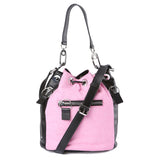 Kenzo Fuchsia Kenzo Logo Bucket Bag / Shop Super Street - 3