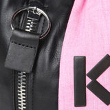 Kenzo Fuchsia Kenzo Logo Bucket Bag / Shop Super Street - 4