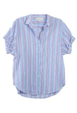 Channing Shirt Blue Flame