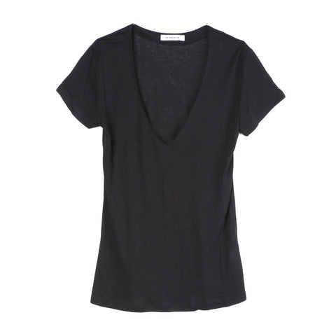 The Fashion Club Black Home V-Neck Tee / Shop Super Street
