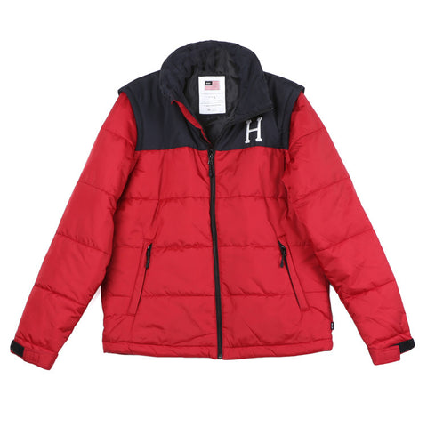 HUF Alpine Red Jacket / Shop Super Street - 1