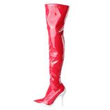 Moschino Over The Knee PVC Boot / Shop Super Street - 1