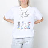 Unfortunate Portrait Lil People Big World Crewneck / Shop Super Street - 2