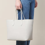 Rochas Grey Pebble Tote / Shop Super Street - 2