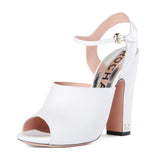 Rochas Open Toe Paltform Sandal / Shop Super Street - 3
