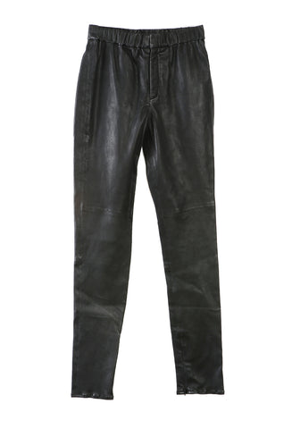 Iany Leather Trousers Black