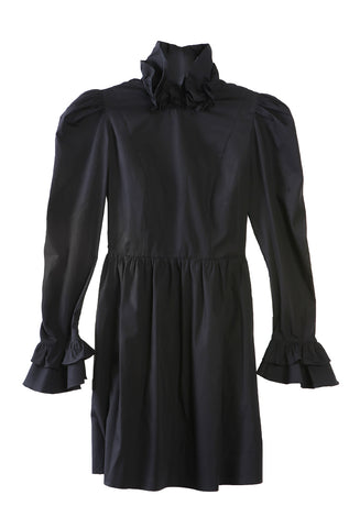 Mini Prairie Dress Black