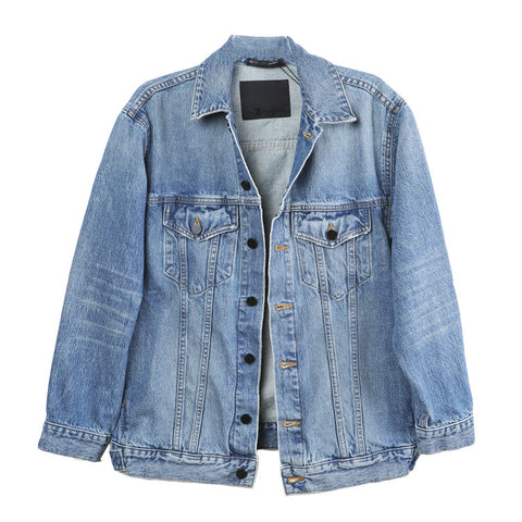 Alexander Wang Daze Indigo Denim Jacket / Shop Super Street - 1