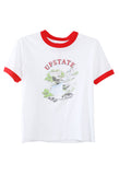 Upstate Tee White