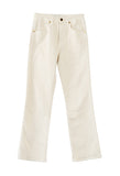 Vivian Jeans New Bootcut Flare Ivory