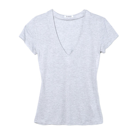 The Fashion Club Heather Grey Home V-Neck Tee / Shop Super Street - 1