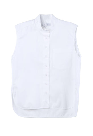 Carven Sleeveless Blouse / Shop Super Street - 1