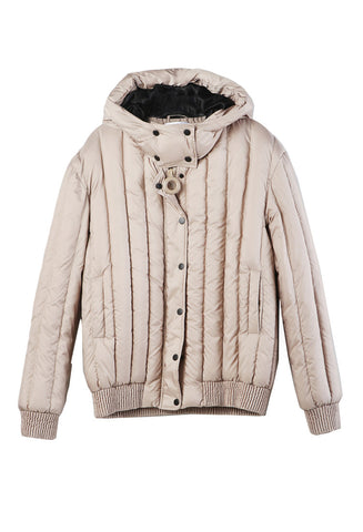Carven Hooded Puffer Jacket / Shop Super Street - 1