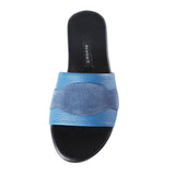 Newbark Roma II Blue Suede Slide / Shop Super Street - 4