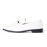 Newbark Melanie White Loafer / Shop Super Street - 1
