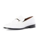 Newbark Melanie White Loafer / Shop Super Street - 3