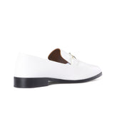 Newbark Melanie White Loafer / Shop Super Street - 4