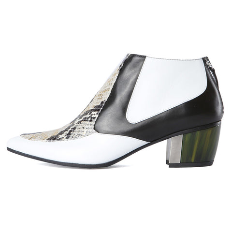 Rodarte White Ankle Boot / Shop Super Street - 1