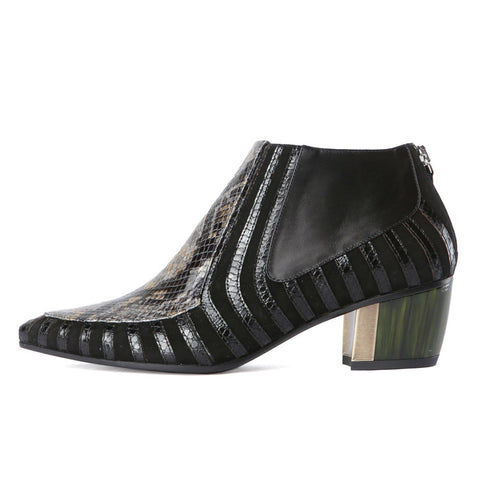 Rodarte Black Ankle Boot / Shop Super Street - 1
