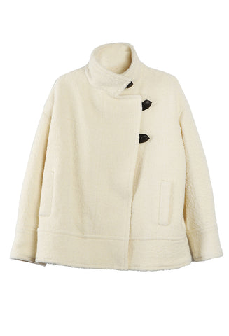 Fagan Wool Jacket Ecru