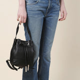 Opening Ceremony Mini Izzy Pebbled Leather Backpack / Shop Super Street - 2