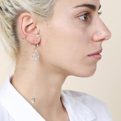 Sorelle Sorelle x Sandy Liang Kate Single Earring / Shop Super Street - 1