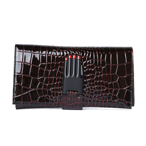 Opening Ceremony Croc Embossed Misha Wallet / Shop Super Street - 1