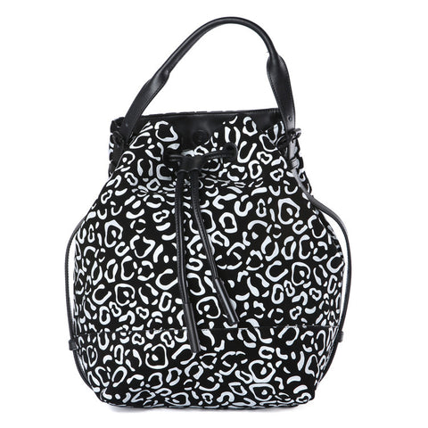 Opening Ceremony Izzy Leopard Suede Backpack / Shop Super Street - 1