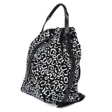 Opening Ceremony Izzy Leopard Suede Backpack / Shop Super Street - 4