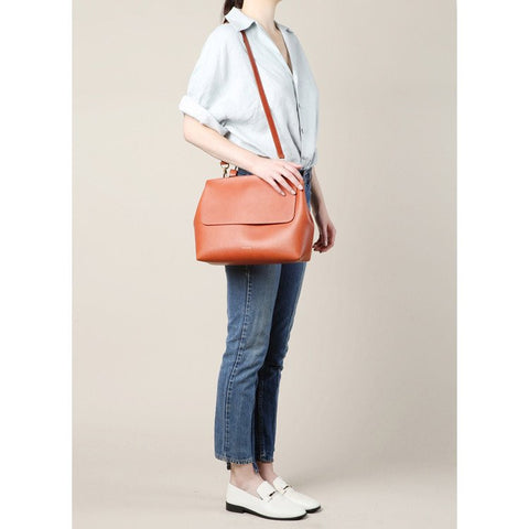 Mansur Gavriel Brandy Vegetable Tanned Lady Bag / Shop Super Street - 1
