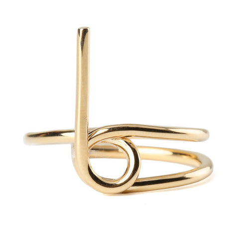 Wasson Fine 14k Gold Tube Ring / Shop Super Street - 1